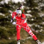 Secondo posto Hochfilzen Karin Oberhofer biathlon
