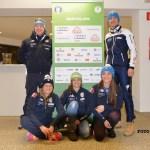 Squadra italiana di biathlon Anterselva 2015